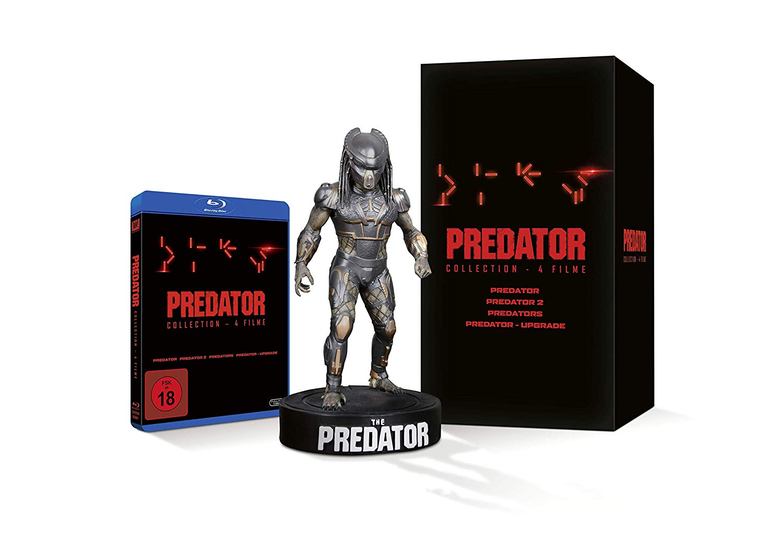 Predator 1 4 Box Blu Ray Statue Für 9999 Fsk18 Vsk Bluray