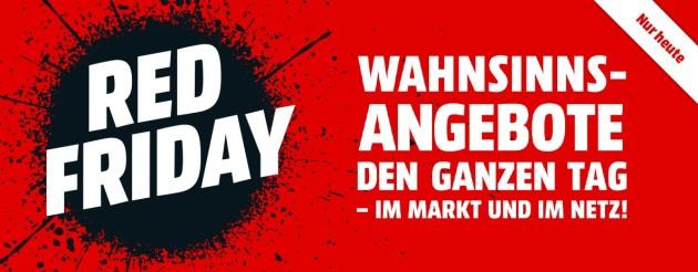MediaMarkt.de: Red Friday – Wahnsinnsangebote den ganzen Tag