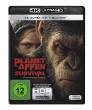 Amazon.de: Planet der Affen: Survival (4K Ultra HD) [Blu-ray] für 12,56€ + VSK