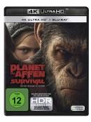 Amazon.de: Planet der Affen: Survival (4K Ultra HD) [Blu-ray] für 13,04€ + VSK