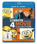 Amazon.de: ICH – EINFACH UNVERBESSERLICH 1 + 2 + 3 + MINIONS [3D Blu-ray] für 23,99€ + VSK