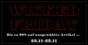 wicked-shop.com: WICKED FRIDAY – Bis zu 50% auf ausgewählte Artikel im Wicked Vision Shop!