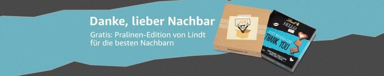 """Amazon.de: Danke, lieber Nachbar"""" gratis Pralinen bei einer Bestellung dazu (Ab 28.11.18)"""