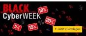 Buecher.de: BLACK-CYBER-Week mit div. Gutscheincodes (bis 26.11.18)