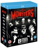 Zoom.co.uk: Universal Classic Monsters: The Essential Collection [Blu-ray] (8 Filme) für ca. 13€ inkl. VSK