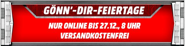 MediaMarkt.de: Gönn dir Feiertage (bis 27.12.18)