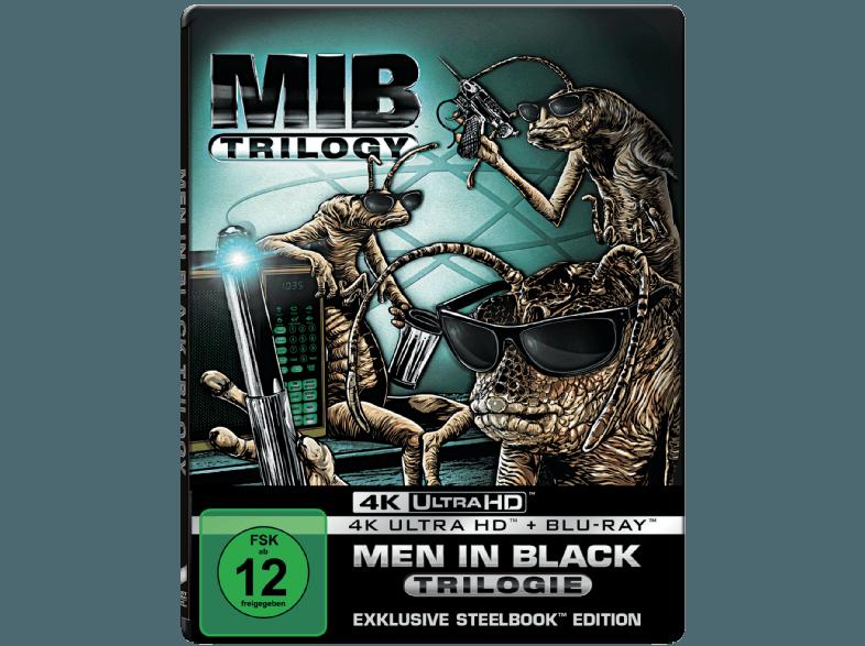 Men-in-Black-1-3-(Steelbook)---(4K-Ultra-HD-Blu-ray)