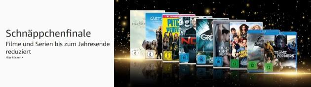 Amazon.de: Schnäppchenfinale – Filme und Serien bis zum Jahresende reduziert (bis 30.12.18)