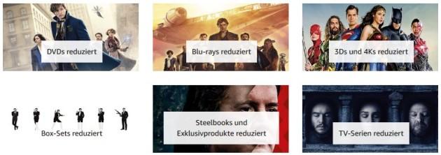 Amazon.de: 7 Tage Tiefpreise – Filme und Serien reduziert (bis 06.01.19)