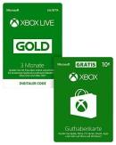 Amazon.de: Tagesangebot – Xbox Live Gold Mitgliedschaft 3 Monate + 10 EUR GRATIS [Xbox Live Online Code] für 19,99€