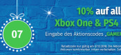Müller.de: 10% Rabatt auf alle Xbox One und PS4 Spiele (nur heute gültig)