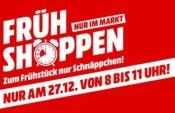 [Offline] MediaMarkt: Frühshoppen am 27.12.18 von 8 – 11 Uhr z.B. Sony PlayStation 4 (PS4) Slim 500 GB für 195€