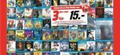 MediaMarkt.de: 3 Blu-rays für 15€ (16.01. – 27.01.2019)