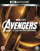 Zoom.co.uk: Avengers 4K UHD Trilogy für 37,60€ inkl. VSK