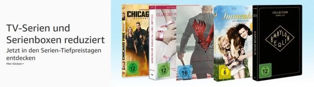 Amazon.de: Serien-Tiefpreise: Serien und Serienboxen reduziert & 10 Blu-rays für 50 EUR (bis 10.02.19)