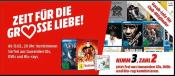 Amazon kontert MediaMarkt.de: 3für2 Aktion auf CDs, DVDs und Blu-rays (bis 18.02.19)