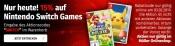 Müller.de: 15% Rabatt auf Nintendo Switch Games (nur am 03.02.2019 gültig)