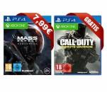 Gamesflat.de: Mass Effect – Andromeda 7,99€ + CoD – Infinite Warfare gratis