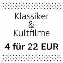 Amazon.de: Neue Aktionen u.a. Filmklassiker & Kultfilme: 4 für 22 EUR (bis 07.04.19)