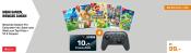 Saturn.de: Nintendo Switch Pro Controller inkl. Spiel nach Wahl + 10€ Coupon für zusammen 99€