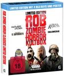 Amazon.de: Rob Zombie Horror Kultbox mit 4 Kult-Horror-Hits auf Sammelschuber und Poster [Blu-ray] für 7,99€ inkl. VSK