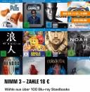 Saturn.de: 3 Steelbooks für 18€ bis 11. März 9 Uhr NUR ONLINE!