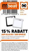 [Offline] Müller: 15% Rabatt auf DS/3DS Spiele (gültig vom 29.03.-04.04.2019)