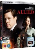 Zoom.co.uk: Weekend Deals – z.B. Baywatch oder Allied 4K [UHD + Blu-ray] für 10,41€ + VSK