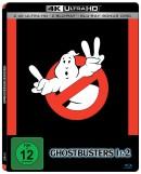 Amazon.de: Ghostbusters 1&2 (4K Steelbook) [2x UHD 2x Blu-ray 1x Bonus Disc) 34,41€ inkl. VSK