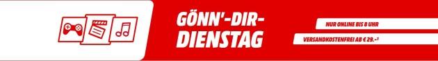 MediaMarkt.de: Gönn Dir Dienstag u.a. Gomorrha – Staffel 1+2 (Boxset) [Blu-ray] für 18€