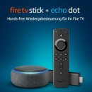 Amazon.de: Fire TV Stick mit Alexa-Sprachfernbedienung + Echo Dot (3. Generation), Anthrazit Stoff für 49,99€ inkl. VSK