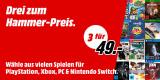 MediaMarkt.de: 3 Games für 49€ [Playstation, XBox, Switch & PC] 15.05. – 26.05.2019