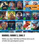 Amazon.de: 3für2 auf Marvel Filme (03.05. – 15.05.2019)