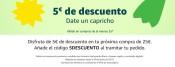 Amazon.es: 5€ Rabatt-Gutschein ab einem MBW von 25€ – bis 30.06.2019