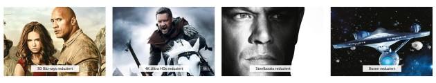 Amazon.de: Filme im Sonderformat reduziert – 3D Blu-rays, 4K Ultra HDs, Steelbooks und Boxen (bis 16.06.19)