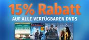 Müller: 15% Rabatt auf alle DVD´s [Filiale + Online] Nur am 28.06.2019