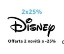 Amazon.it : 25% Aktion beim Kauf von 2 aktuellen Disney Filmen bis 30.06.19