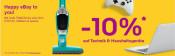 ebay.de: 10 % Rabatt auf ausgewählte Elektronik und Haushaltsgeräte z.B. Nintendo Switch Konsole für 260,95€ inkl. VSK