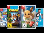 Gamestop.de: Nimm 2 ausgewählte Nintendo Switch Games für 60,00€ (Laufzeit bis 24.06.2019)