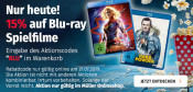 Müller: 15%  Rabatt auf Blu-rays – Nur am 21.07.19