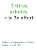 Amazon.fr: 3 für 2 Aktion (bis 02. September 2019)