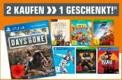 Amazon kontert Saturn.de: 3 Spiele für 2
