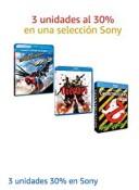 Amazon.es: 30% Rabatt beim Kauf von 3 Sony Filmen bis 11.08.19