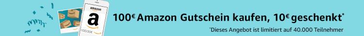 Amazon.de: 100€ Gutschein kaufen und 10€ on Top erhalten (Nur PRIME)