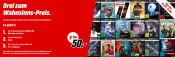 MediaMarkt.de: 3 für 50€ 4K-UHD Aktion (150 Titel) bis 29.07.19 – 8:00 Uhr