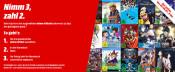MediaMarkt.de: Nimm 3 Zahl 2 auf Animes (über 500 Titel, bis 08.07.19)