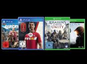 Gamestop.de: 2 ausgewählte Spiele für PS4 und/oder Xbox One für zusammen nur 22,00€