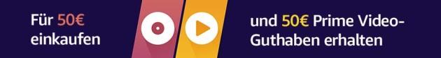 Amazon.de: Für 50 EUR kaufen, 50 EUR Prime Video bekommen