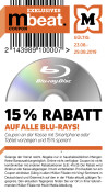 Mueller.de: 15% Rabatt auf alle Blu-rays (23.08.-29.08.19)