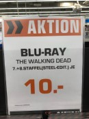 [Berlin Lokal] Saturn Europacenter: Walking Dead Staffel 7 & 8 Steelbok je 10€